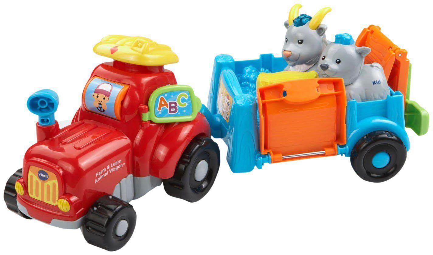 Little Tikes Keuken : Vtech go! go! smart animals farm and learn animal wagon pre school