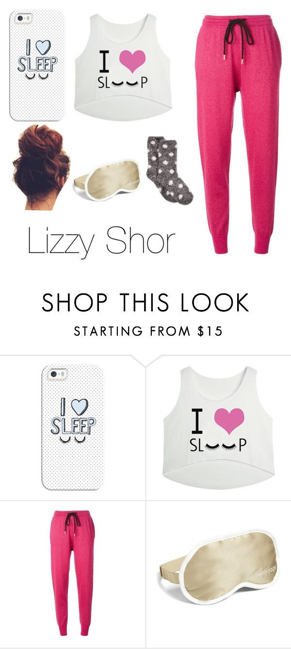 """""""Me right now"""" by lizzy4shor ❤ liked on Polyvore featuring Casetify, Markus Lupfer, Iluminage and Charter Club"""