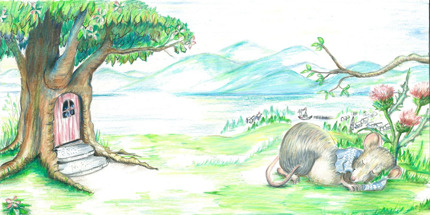 colored pencil illustration for children\'s book | my paintings ...