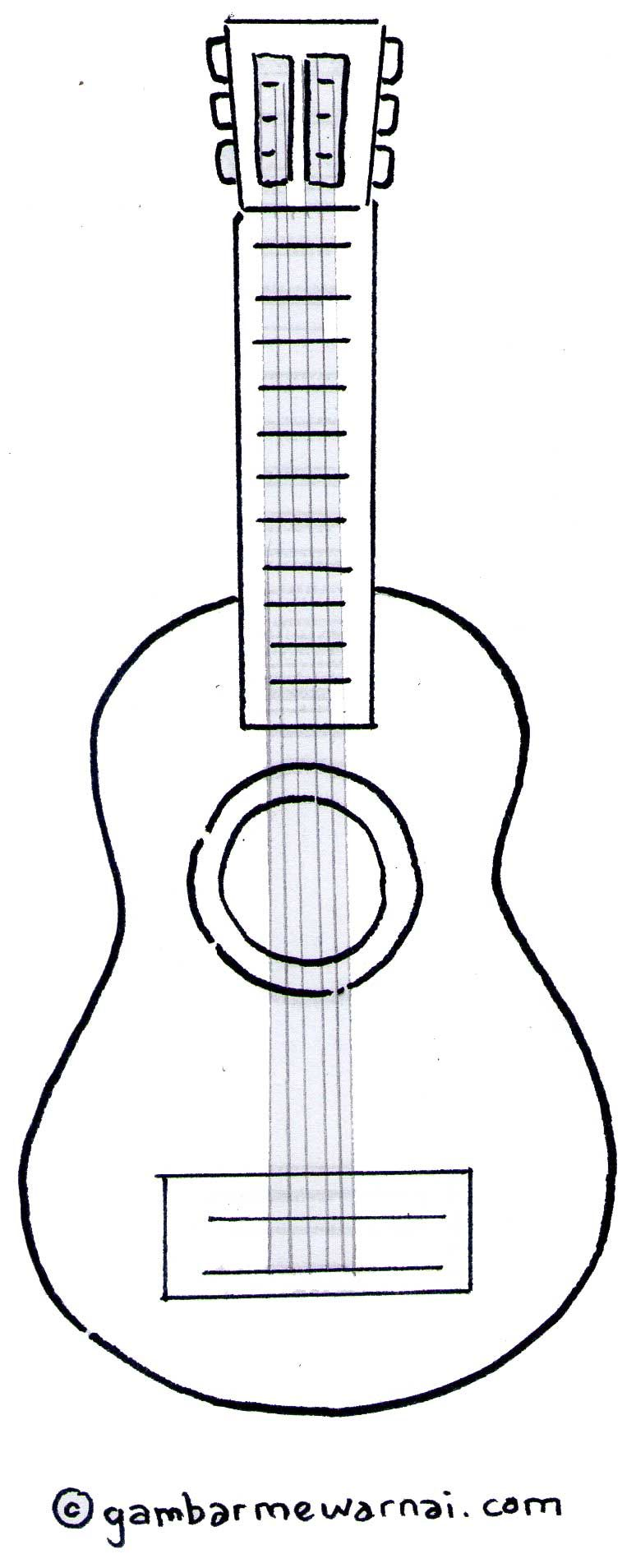 Gambar Mewarnai Gitar Doraemon Microsoft Word Coloring Books Projects To Try Punto