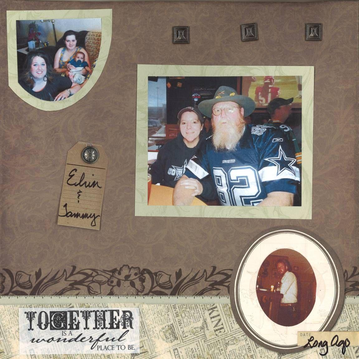 Scrapbook ideas grandma - Grandmother S Alzheimer S Scrapbook Page 22