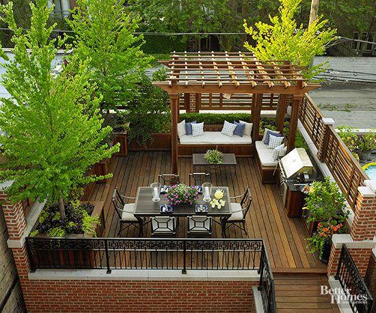 Amazing Roof Decks To Copy Roof Garden Design Rooftop Terrace Design Rooftop Design