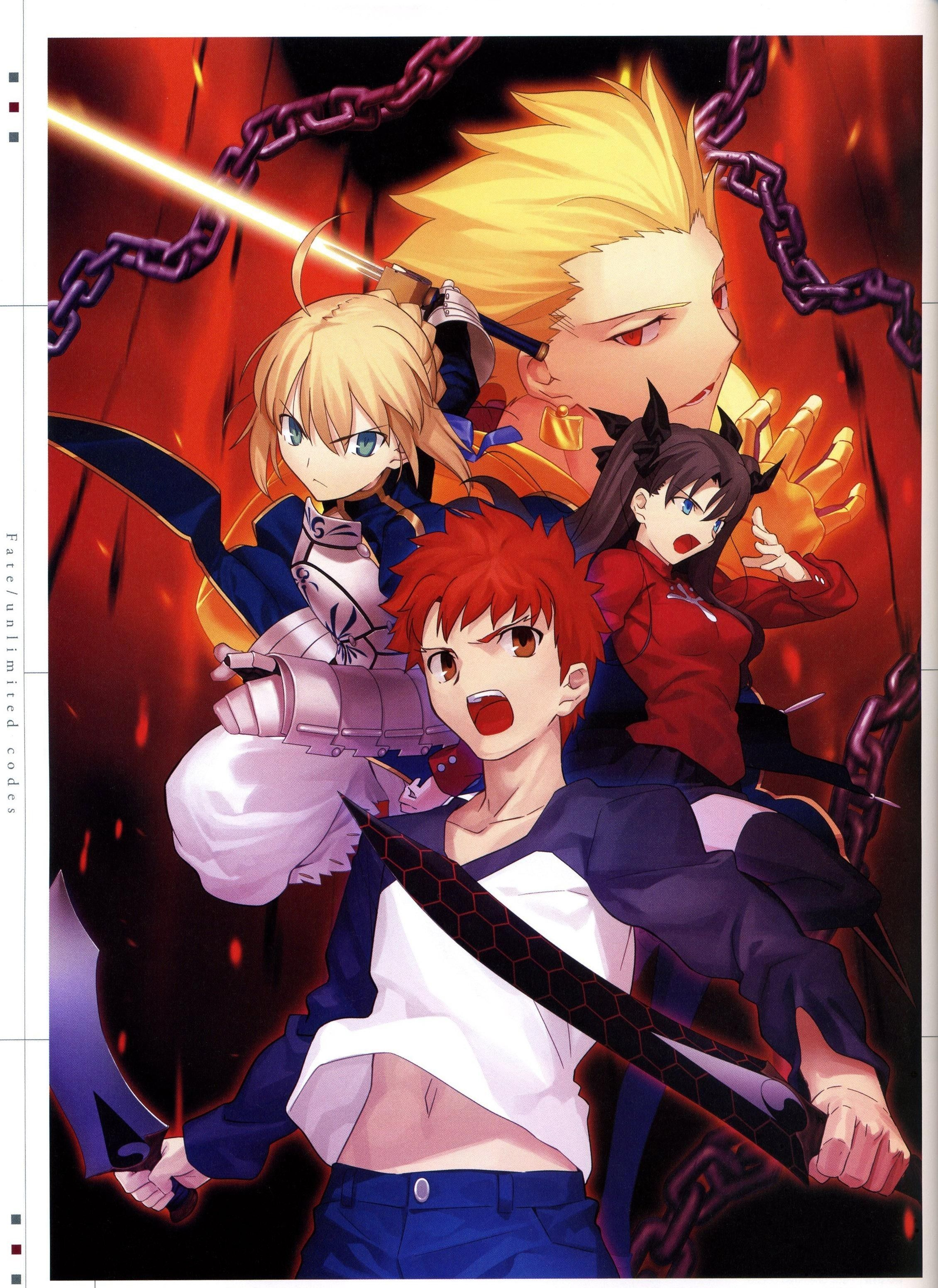 Shirou Emiya / Saber / Rin Tohsaka / Gilgamesh【Fate/Stay