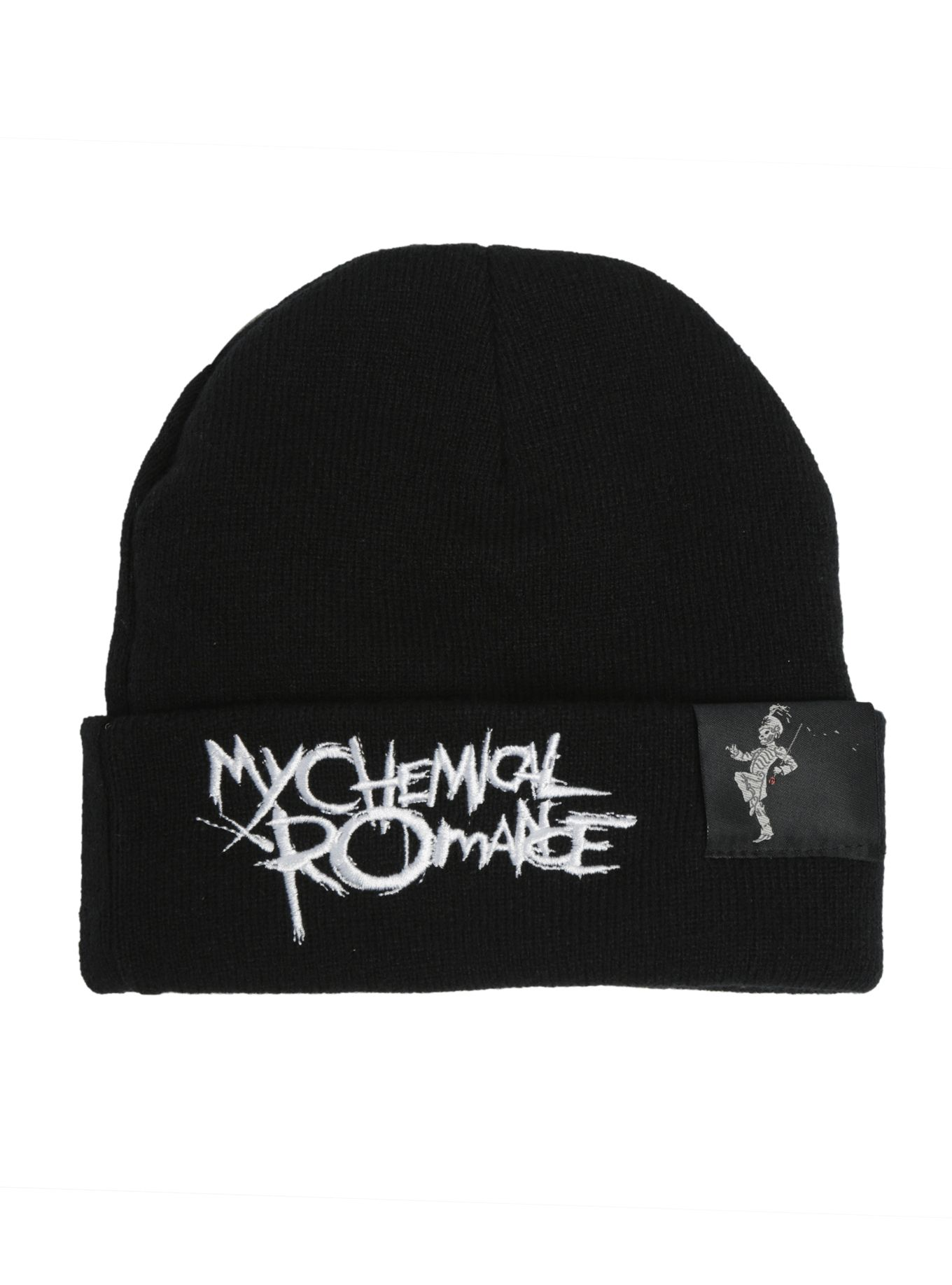 timeless design e54d5 dc961 My Chemical Romance Black Parade Watchman Beanie   Hot Topic
