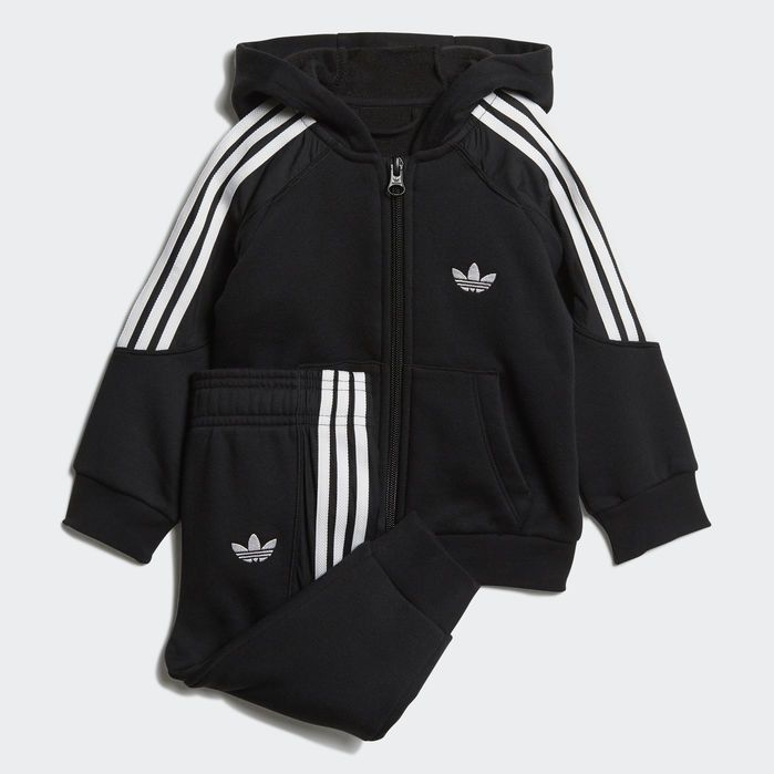 dfac525343 Radkin Hoodie Set in 2019 | Products | Adidas, Adidas baby, Black adidas