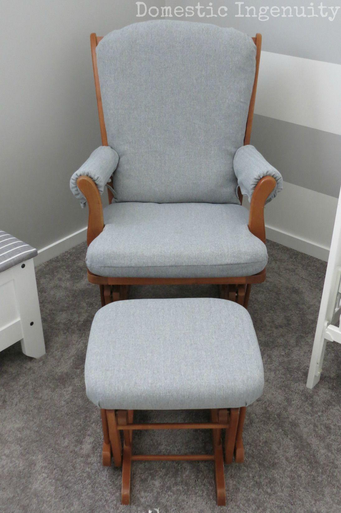 Diy glider chair cover glider rocking chair glider
