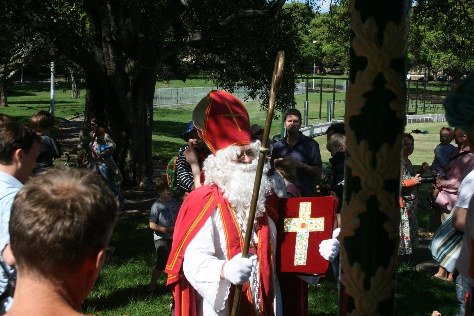 Saint Nicholas, in Petersham Park, Sydney. (Peter Hamer was there too!)