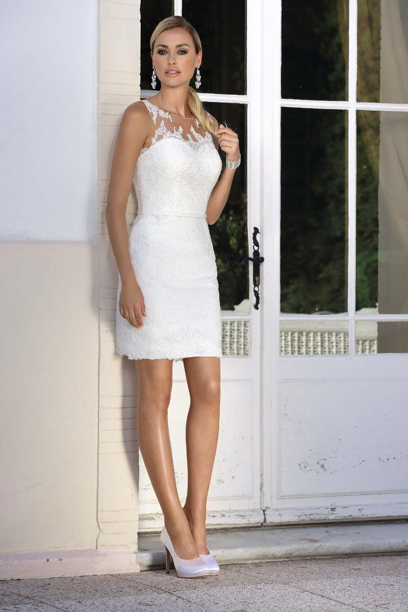 Die beliebten Ladybird Brautkleider gibt es auch in kurz! Super fürs ...