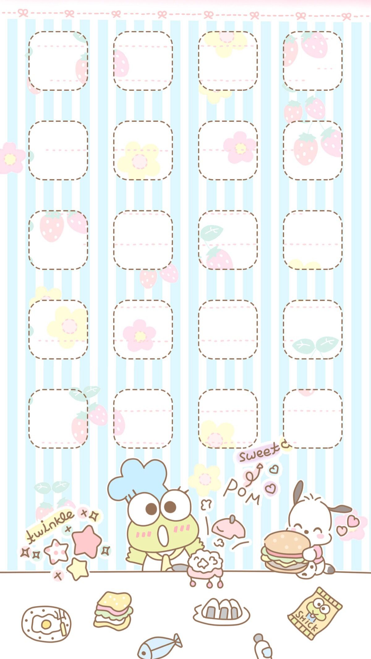 Pin By Viyoko Wai On Theme Wallpaper Iphone Iphone Wallpaper Girly Keroppi Wallpaper Sanrio Wallpaper