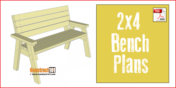 2x4 Bench Plans Pdf Download Furniture And Shelves Bench Plans
