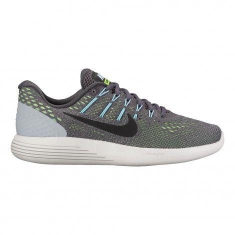 Nike Lunarglide 8 843726 #hardloopschoenen dames dark grey ...