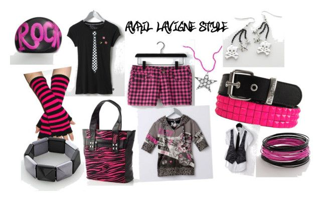 """Avril LAVIGNE STYLE"" by luvsfasion101 ❤ liked on Polyvore featuring Abbey Dawn"