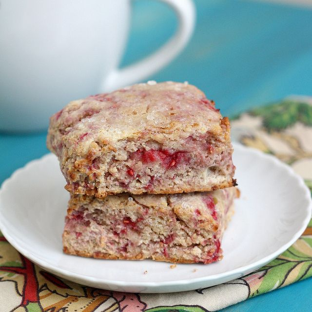 Whole Wheat Raspberry Ricotta Scones by Tracey's Culinary ...