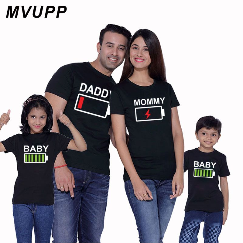 Like Daughter Like Mummy Mum Mother Daughter Matching T shirt Family Outfit Sets
