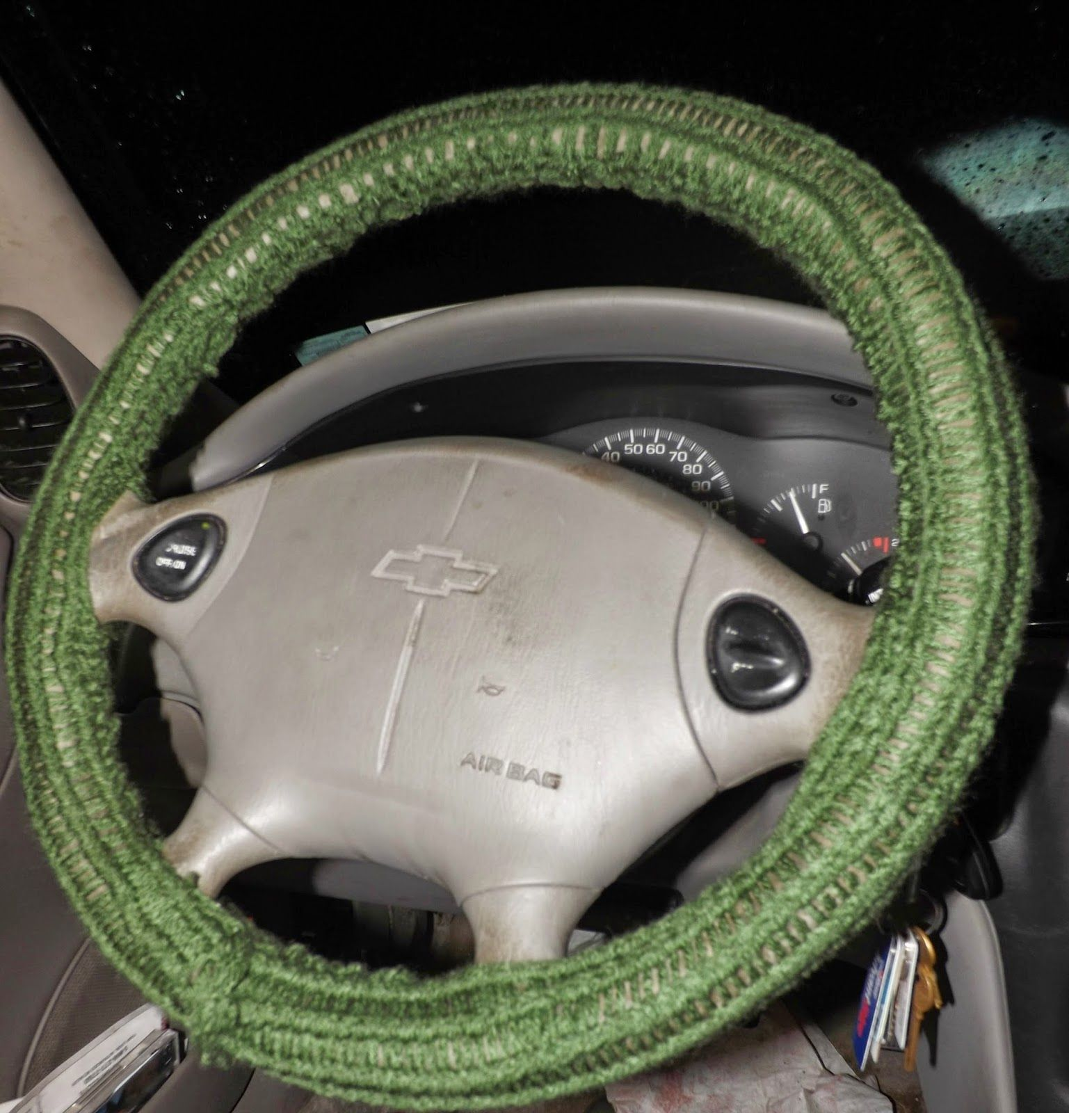 Basic Steering Wheel Cover Pattern Wheel Cover Knitting