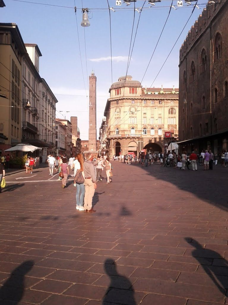 Bologna, torre Asinelli