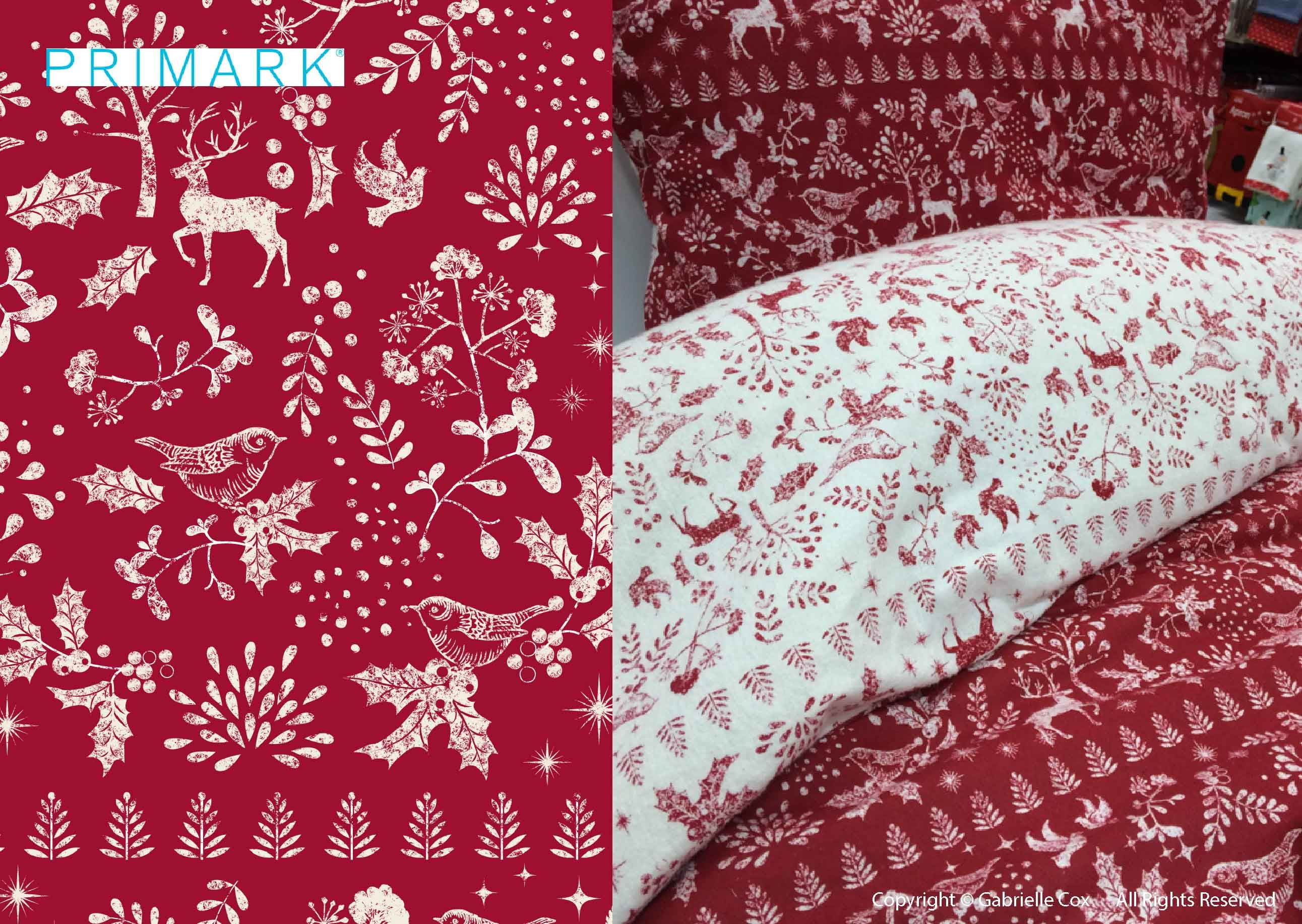 primark christmas bedding | christmas bedroom decor | pinterest