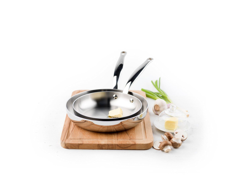 Greenpan stainless steel nonstick ceramic cookware set
