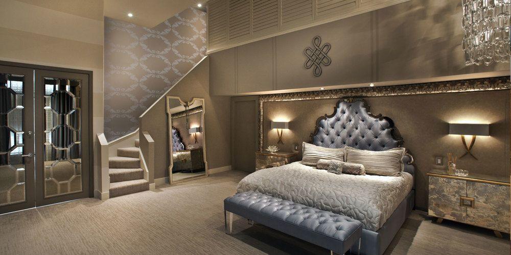 Modern Grand Master Bedroom Novocom Top