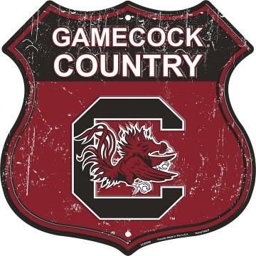 NCAA South Carolina Gamecocks WinCraft Official Chrome Clock