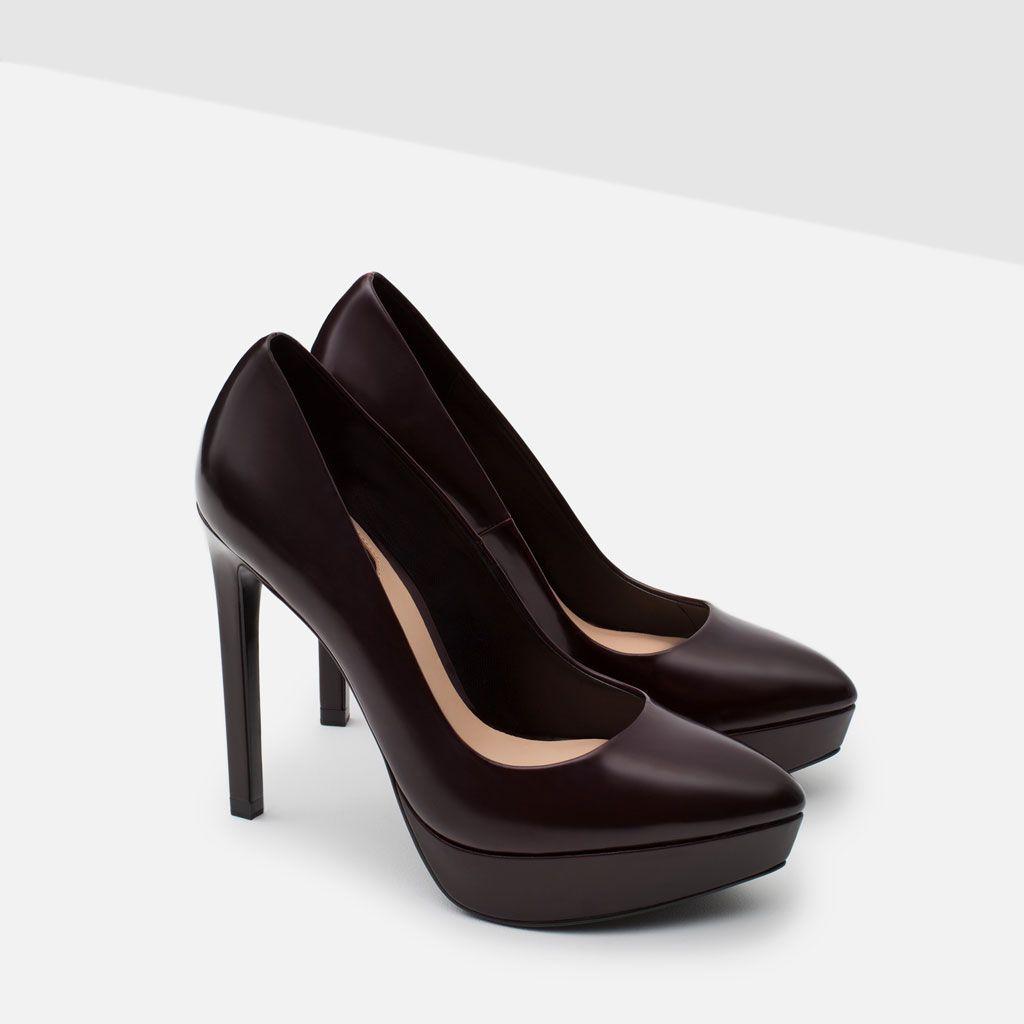 Court Heels United WomanZara Heel Shoe Shoes High Platform xdoeCB