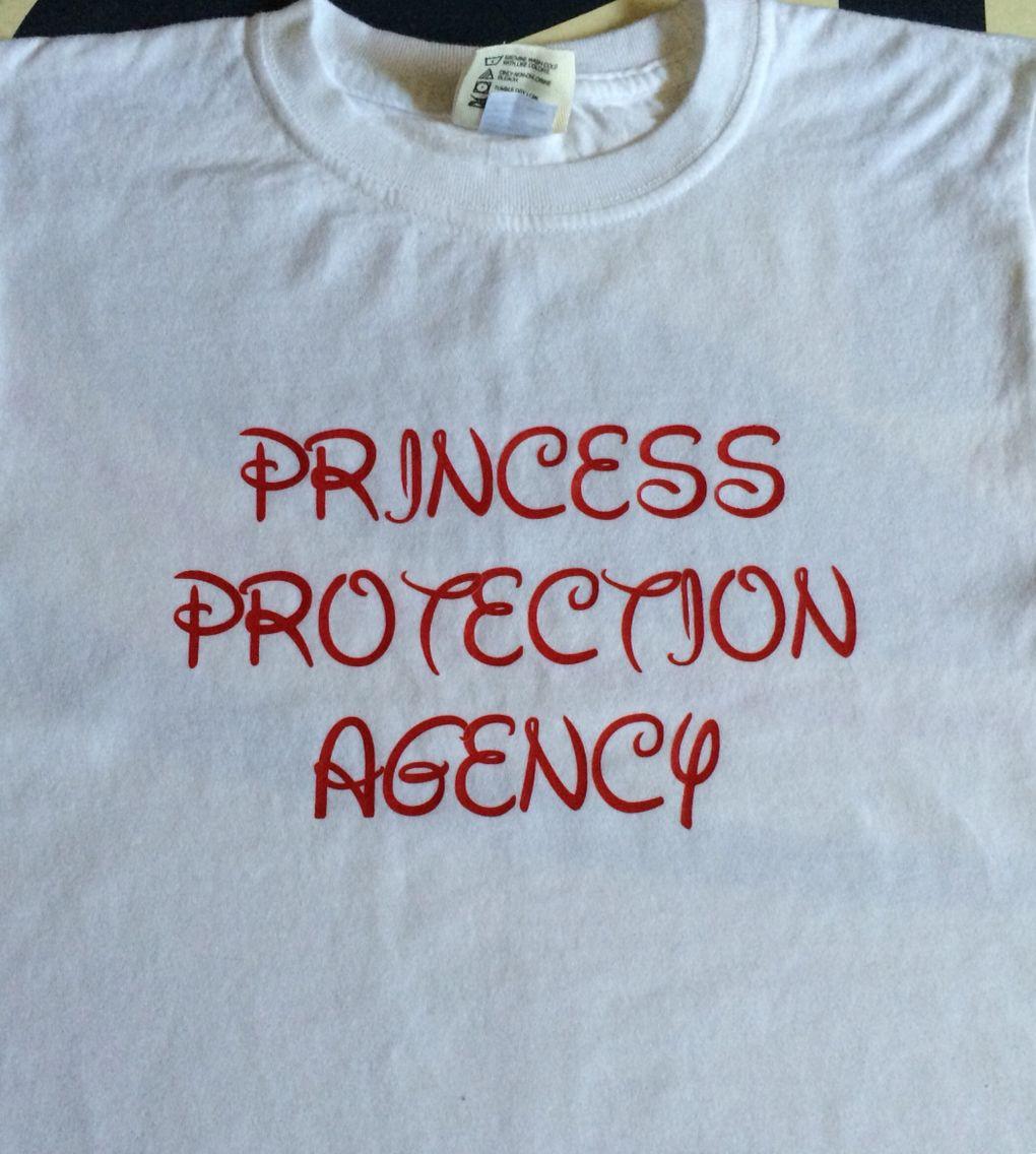 Tshirt w/ heat transfer for Disney trip