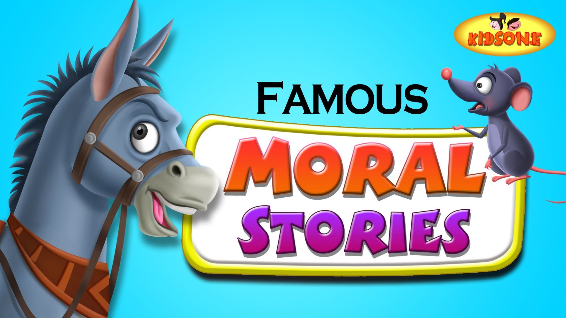 MoralStories, Belling The Cat Story, Cartoon Animated