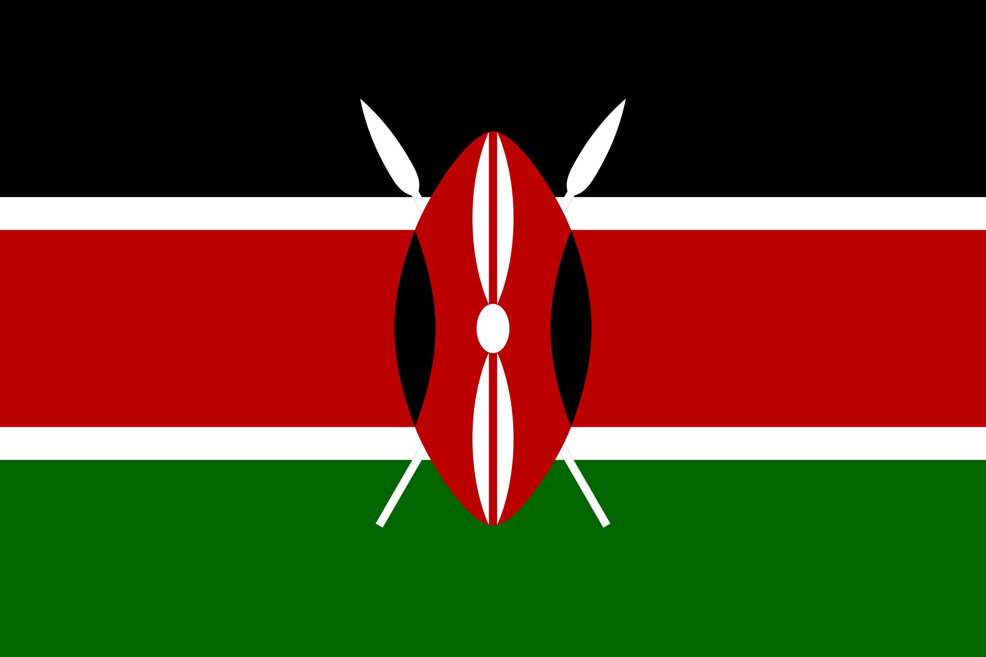 Flag of Kenya Flag of Kenya