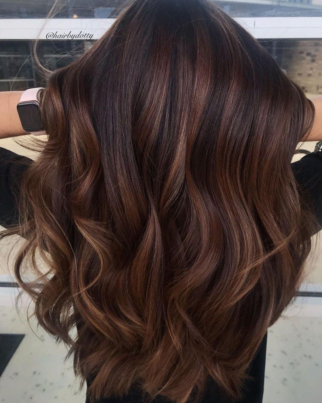 50 Meilleures Couleurs De Cheveux Nouvelle Couleur Cheveux Idees Et Tendances Pour 2020 Brown Hair Balayage Brunette Balayage Hair Cool Hair Color