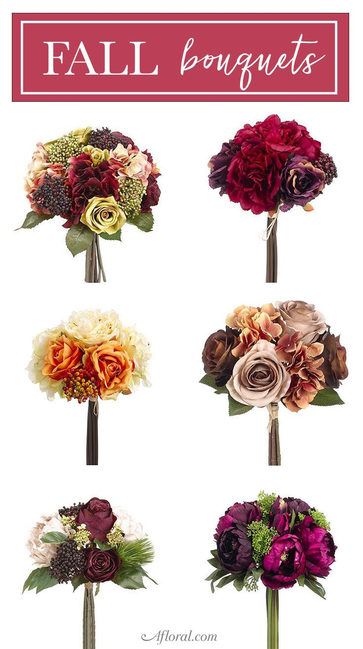 Find artificial flower bouquets for your fall wedding at afloral find artificial flower bouquets for your fall wedding at afloral izmirmasajfo