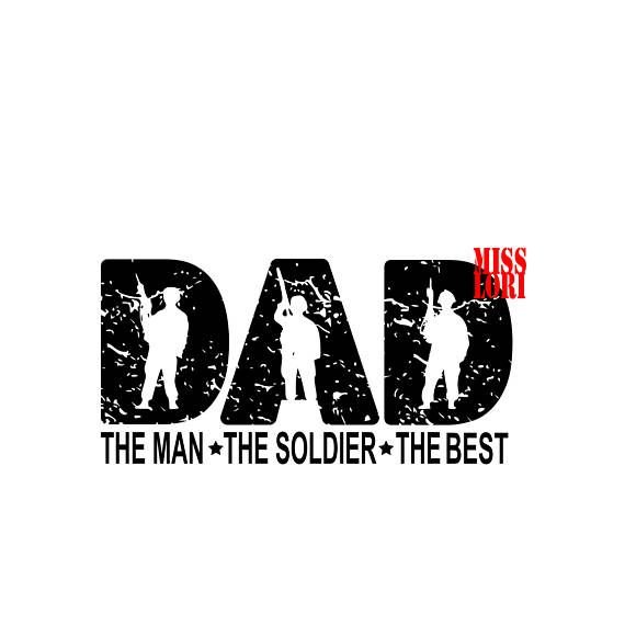 Download Dad the man the veteran the hero SVG DFX Cricut fathers ...