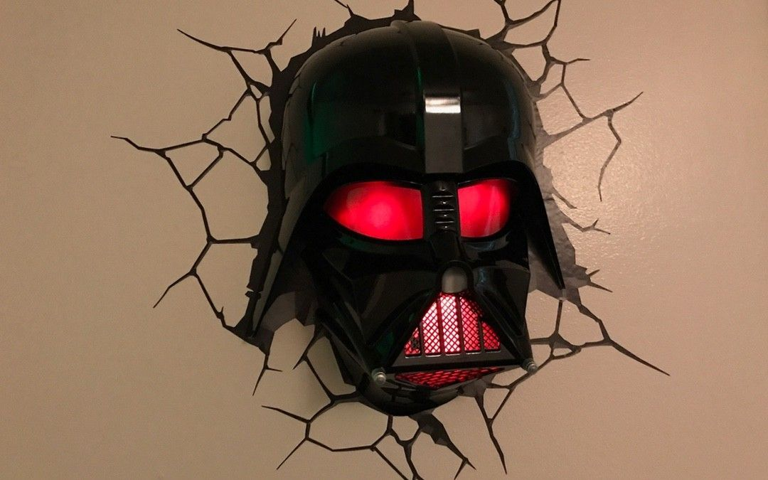 3d Light Fx Darth Vader Helmet 3d Deco Light Review Macsources 3d Deco Light Wall Fans Darth Vader