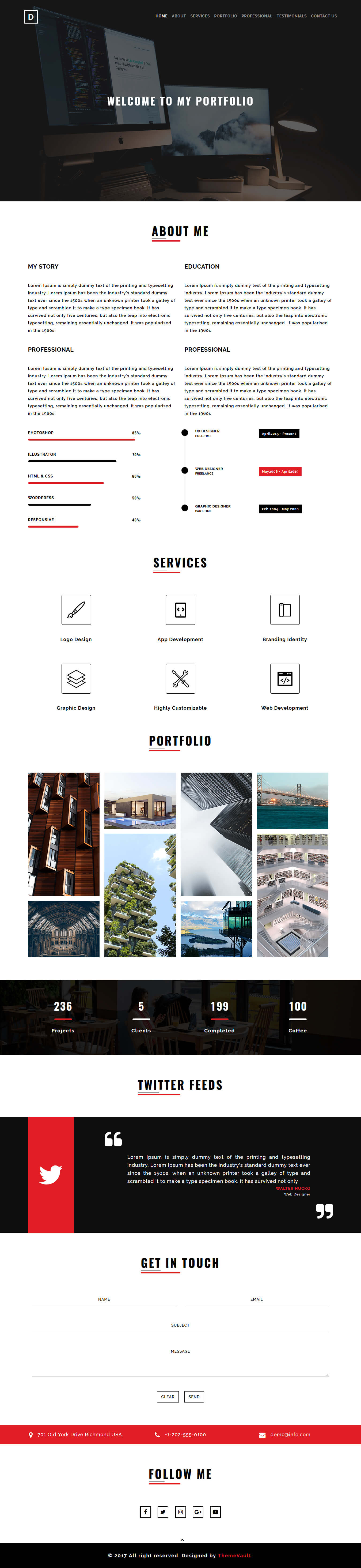 free responsive html5 website template | Free HTML Website Templates ...