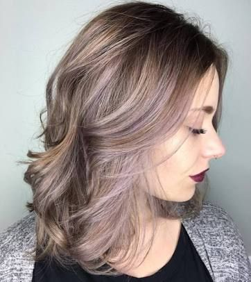 Image Result For Hair Colour For Over 50s Pastel Purple Hair Medium Hair Styles Lavender Hair