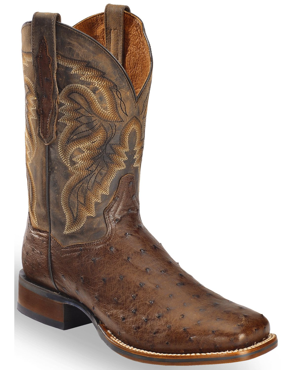 31b48b92972 Dan Post Men's Alamosa Exotic Ostrich Cowboy Certified Boots in 2019 ...