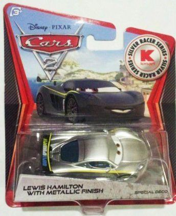 Mattel Disney Pixar KMART LEWIS HAMILTON Metallic Finish CARS 2