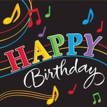 Happy Birthday Images With Musical Theme