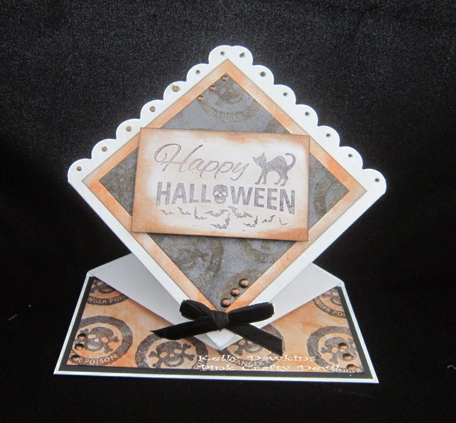 Spooky Goings On using the All Hallows range