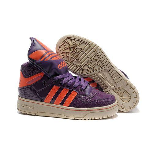 JS Women's adidas Originals Metro Attitude Logo W Shoes - Purple Orange