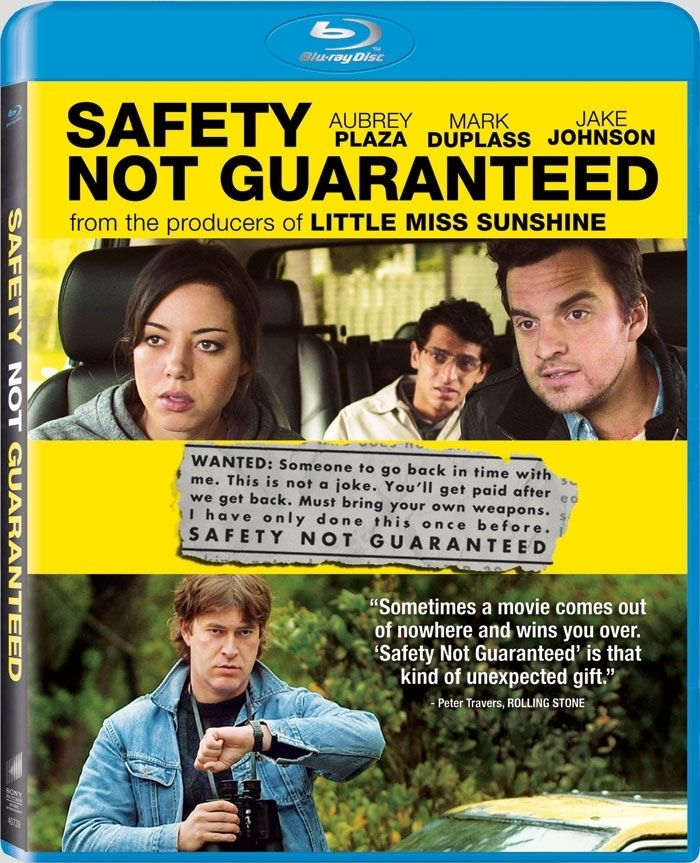 Safety Not Guaranteed Bluray i can has that? Movies