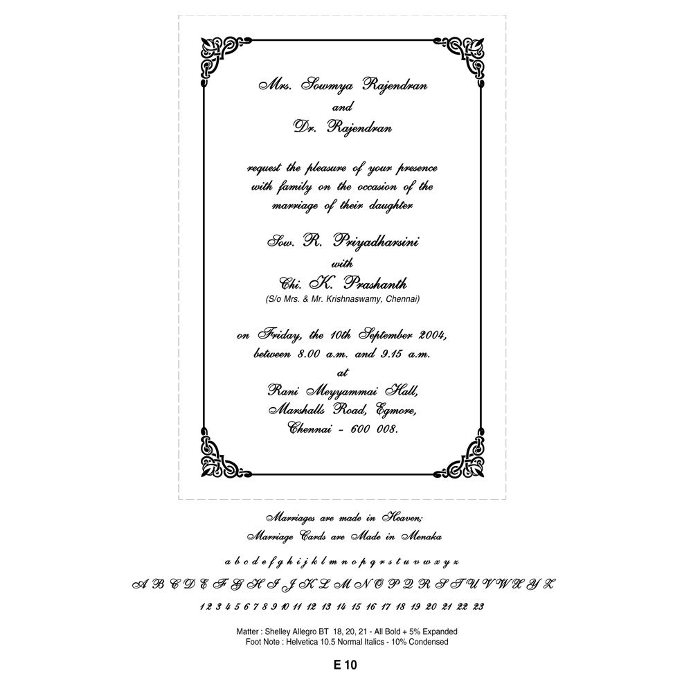 Cursive Font option | Invitation | Pinterest | Wedding cards online ...