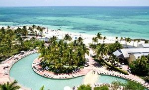 Groupon - Three- or Seven-Night Stay at Grand Lucayan Beach & Golf Resort in The Bahamas in Freeport, Grand Bahama Island. Groupon deal price: $349.00