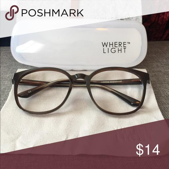 Where light frames (NO LENSEs)   Lenses, Lens and Lights