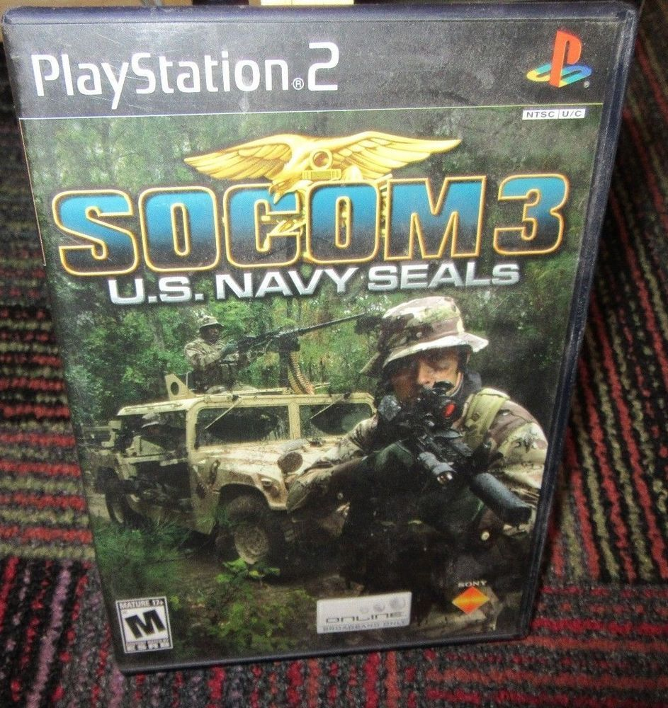 socom 3 u s navy seals game for playstation 2 ps2 case game rh pinterest com Socom 2 US Navy SEALs Socom Game