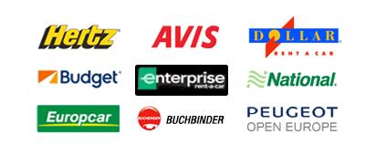Auto Europe Car Rental Companies Hertz Avis Dollar Budget