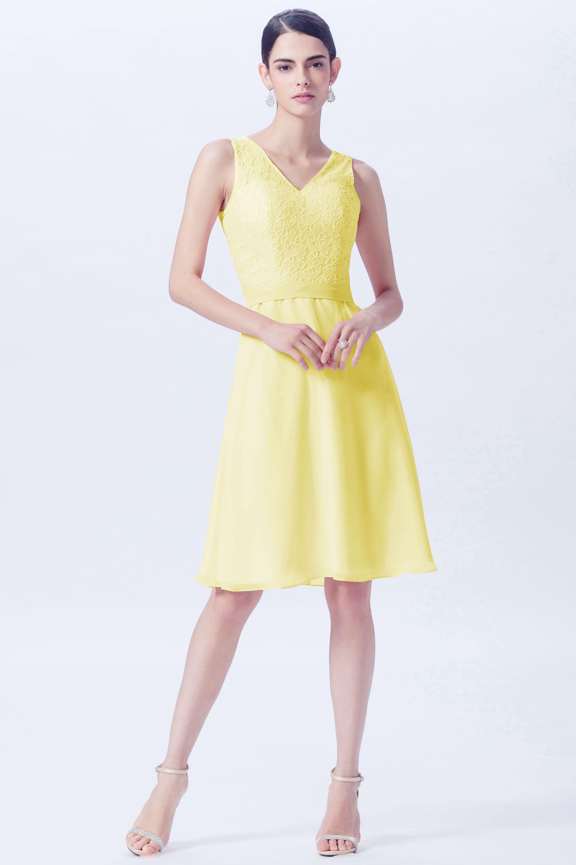 Pj from pretty jolly ettyjolly yellow bridesmaid