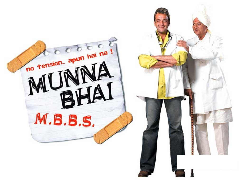 2003 - Munnabhai (Sanjay Dutt) is a goodhearted oaf who, along ...