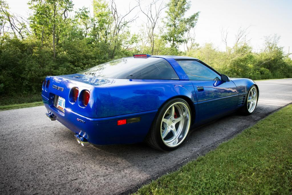 Mike Gill S 1994 Admiral Blue Corvette Zr 1 Re Writes The Rules Of