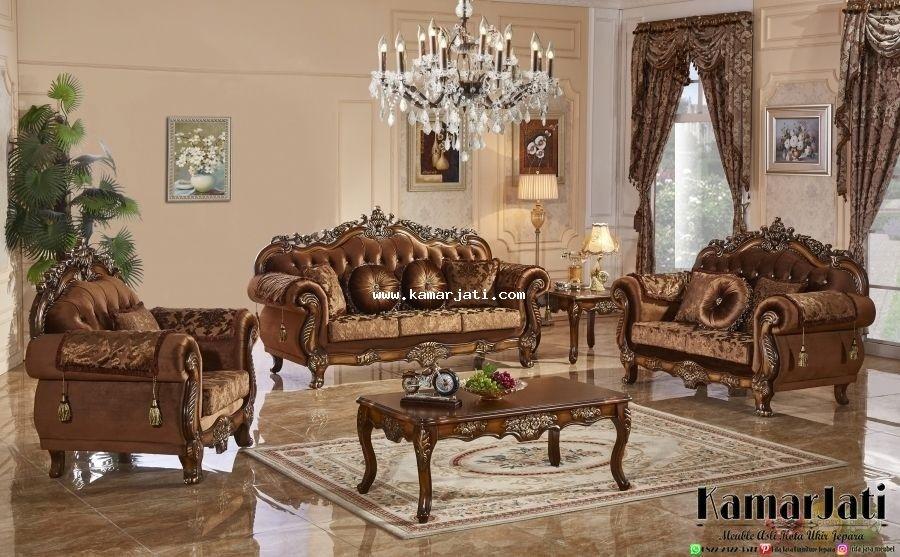 Model Kursi Sofa Tamu Mewah Jakarta Set Ruang Keluarga Dekorasi Ruang Tamu Ruang Keluarga Tradisional