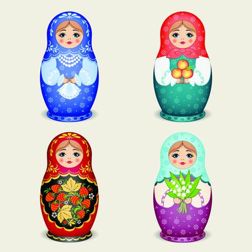 russian doll vector - Buscar con Google